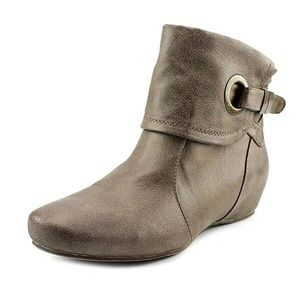 BareTraps Sandee Hidden Wedge Ankle Booties